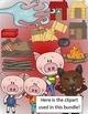 Three Little Pigs Literacy & Math Bundle - 10 Activities Total