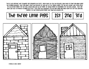 Three Little Pigs- Literacy, Math & Science Unit