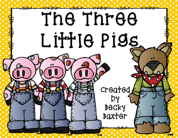 Three Little Pigs- Literacy, Math & Science Unit