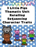 Three Little Pigs Literacy Set
