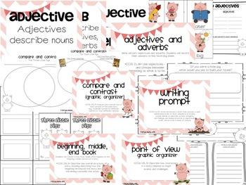 Three Little Pigs Literacy Unit Common Core