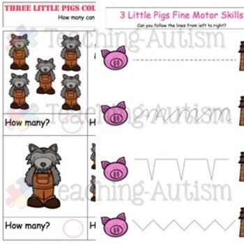 3 Little Pigs Activity Bundle