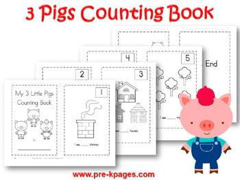 Three Little Pigs Math Activities