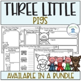 Three Little Pigs Mini Reading and Writing Activities