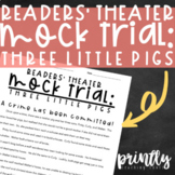 Three Little Pigs Mock Trial Reader's Theater