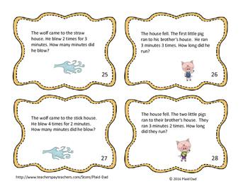 Three Little Pigs Multiplication