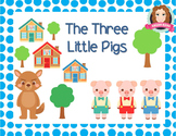 Three Little Pigs Narrative Story for Distance Learning