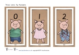 Three Little Pigs Numbers 0-20