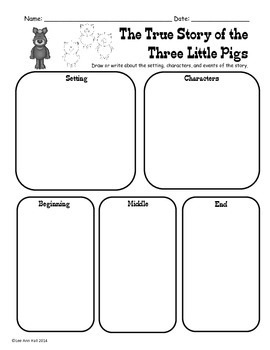 Three Little Pigs Pack