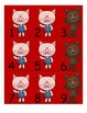 Three Little Pigs Pocket Chart Numbers 1-100....AAB Pattern