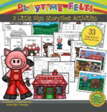 Three Little Pigs PreK Printable Worksheets