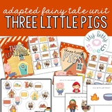 Three Little Pigs Preschool Language Unit
