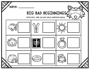 Three Little Pigs~ Printables and Craft