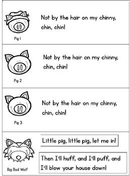 Three Little Pigs Puppet Show