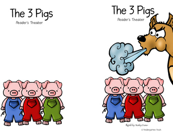 Three Little Pigs: Reader's Theater or Partner Play
