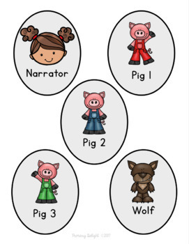 Three Little Pigs Readers' Theater