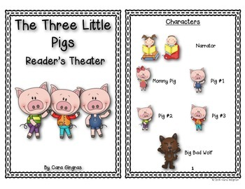 Three Little Pigs Readers Theater and Retelling