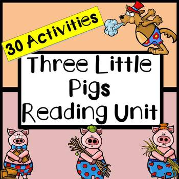 Three Little Pigs (Reading Comprehension Sheets)