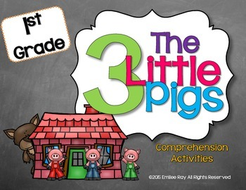 Three Little Pigs Retell Pack