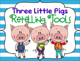 Three Little Pigs Retelling Tools