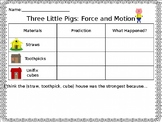 Three Little Pigs STEM Activity