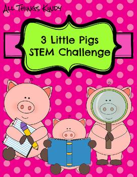 Three Little Pigs STEM Challenge