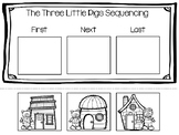 Three Little Pigs Sequencing