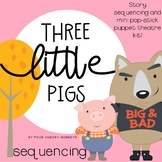 Three Little Pigs Sequencing Activities