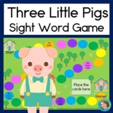 Three Little Pigs Sight Word Game