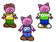 Three Little Pigs- Sight Word Match Freebie