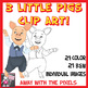 Three Little Pigs Story Clip Art - 22 Fairytale Clipart Images