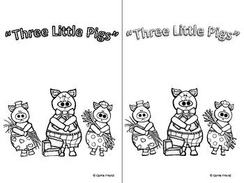 Three Little Pigs Sub Packet