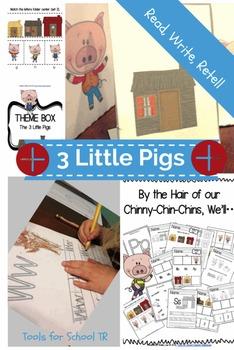 Three Little Pigs Unit for PreKindergarten