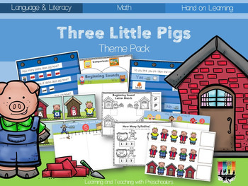 Three Little Pigs Theme Pack