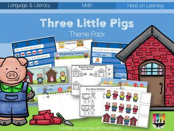 Three Little Pigs Theme Pack