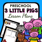Three Little Pigs Theme Preschool Lesson Plans - 3 Little Pigs Activities