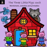Three Little Pigs Unit -Common Core aligned