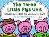 Three Little Pigs Unit {Craft & Tons of Learning Activiies}