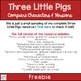 Three Little Pigs Venn Diagram Freebie