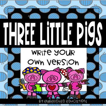 Three Little Pigs Writing