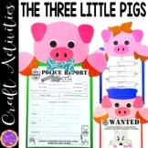 Three Little Pigs and the Big Bad Wolf Craft Activity