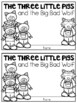 Three Little Pigs and the Big Bad Wolf Writing Book