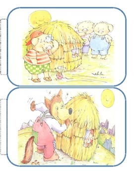 Three Little Pigs books to go with Greg & Steve's 3 Little Pig Blues, Printables