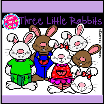 Three Little Rabbits