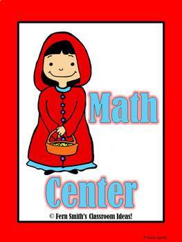 Little Red Riding Hood's Addition Subtraction and Place Value Games Bundle
