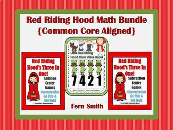 Little Red Riding Hood's Addition Subtraction and Place Va