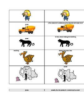 Three Little Wolves & Big Bad Pig Spelling Vocabulary List & Activities
