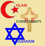 Three Monotheistic Religions Doodle Notes and powerpoint