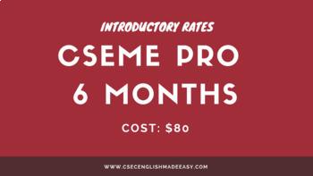 Six (6) Months CSEME PRO Membership