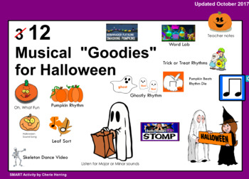 Three Musical Goodies for Halloween